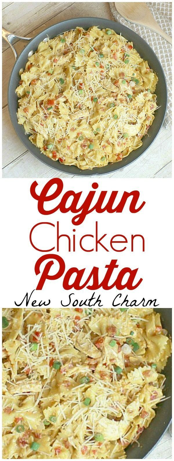 One Of The Best Dinner Recipes Ever This Cajun Chicken Pasta Is A Fast