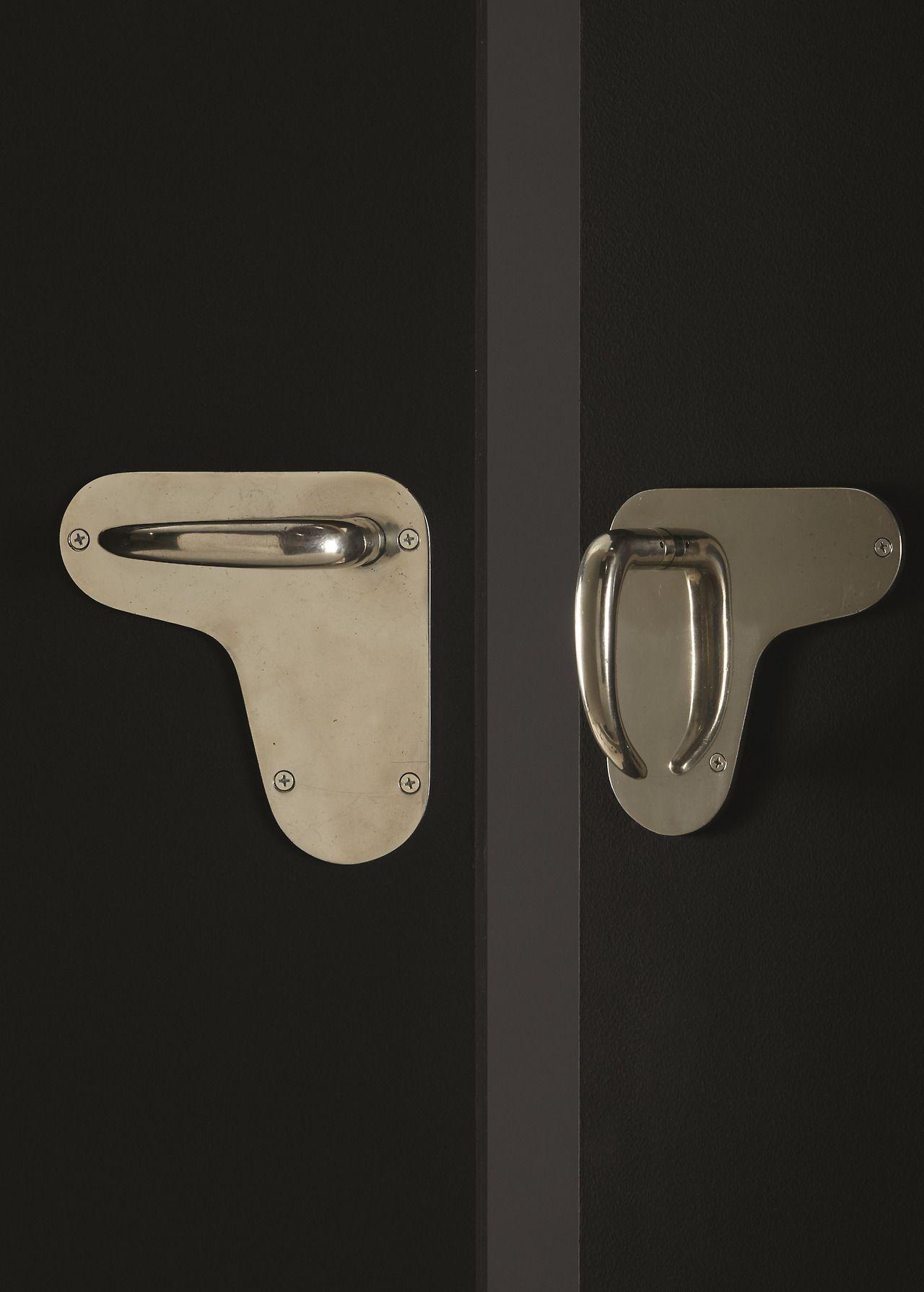 Vilhelm Lauritzen Two Sets Of Door Handles From The