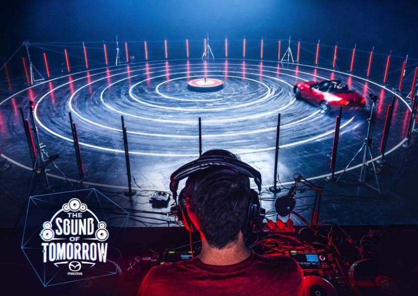"""車と音楽を見事融合!世界最大級フェス""""Tomorrowland""""とマツダの『DJコンテストキャンペーン』   AdGang"""