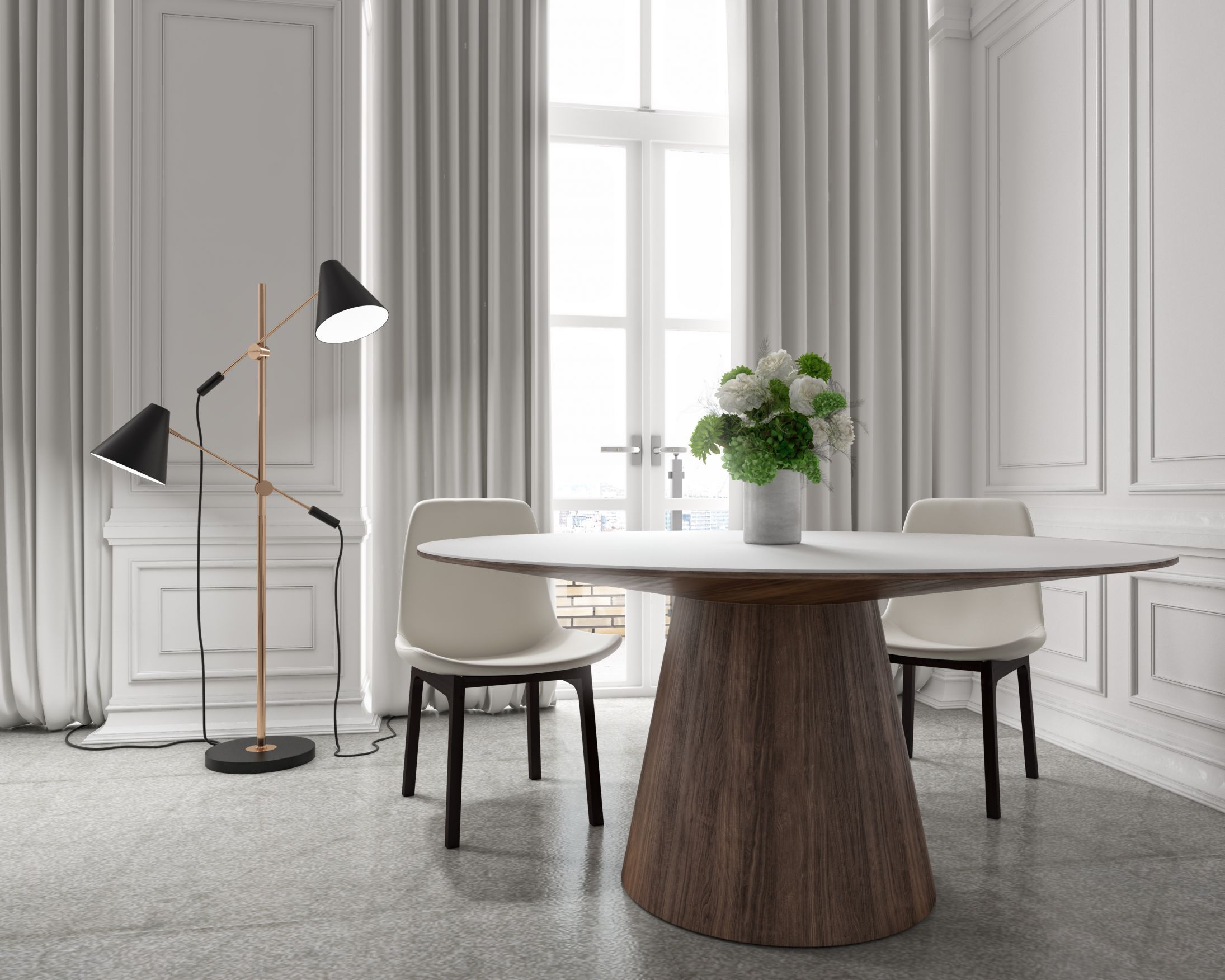 """Winston Dining Table - 48""""   Rove Concepts Rove Concepts ..."""
