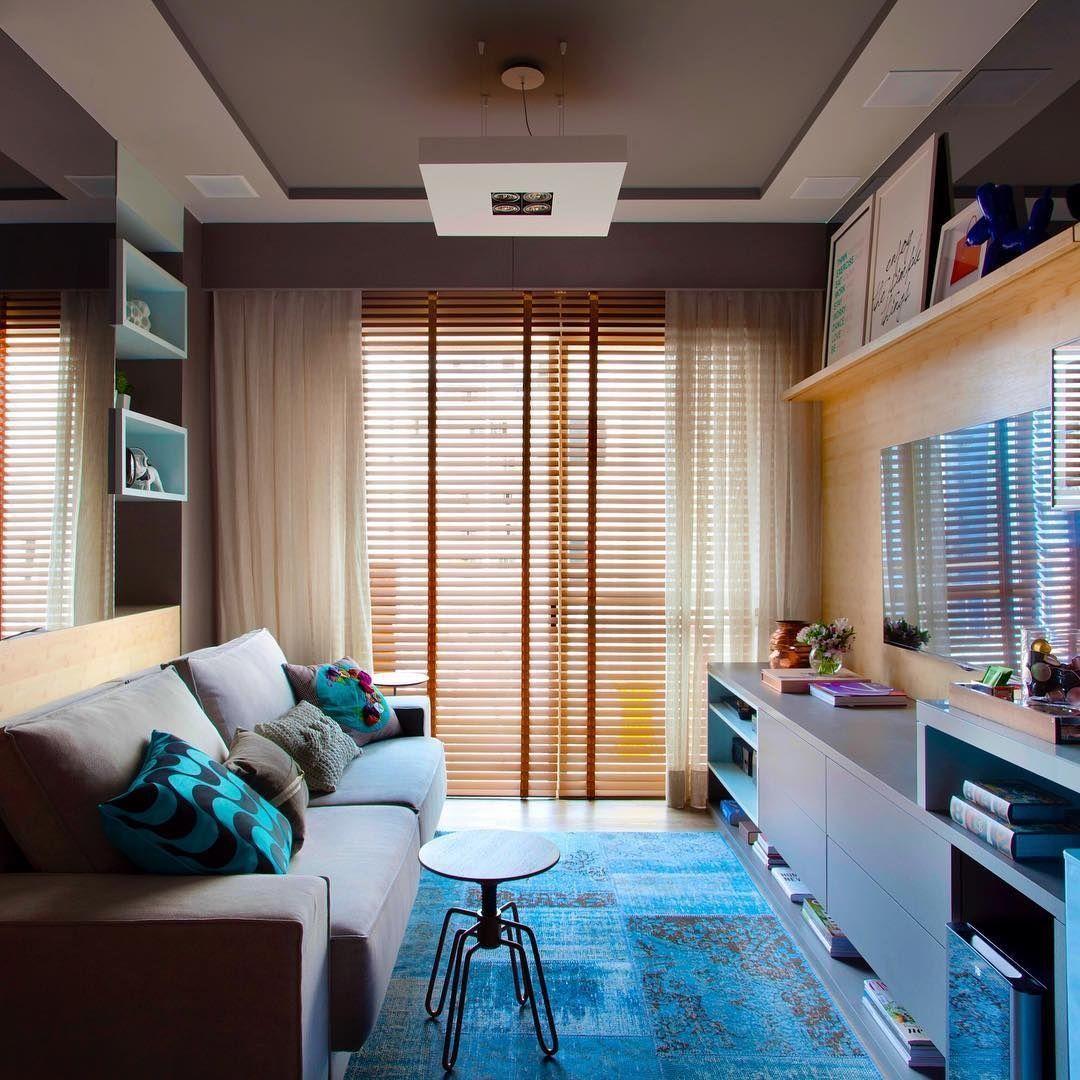 70 ideias de salas pequenas decoradas e lindas para se for Casetas pequenas