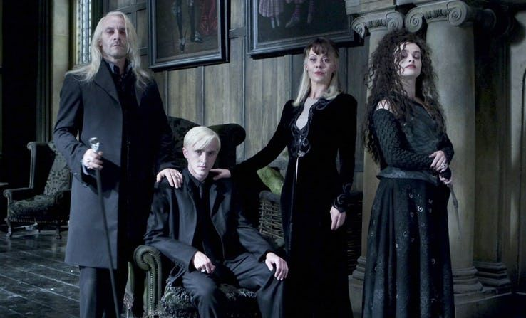 20 Things That Happened After Harry Potter Ended That Fans Need To Know Draco Slipped Away And Married Astoria Gre Bellatrix Lestrange Bellatrix Draco Malfoy