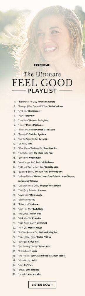 The Ultimate Feel Good Playlist Piosenki Slubne Piosenki O Milosci I Muzykoterapia