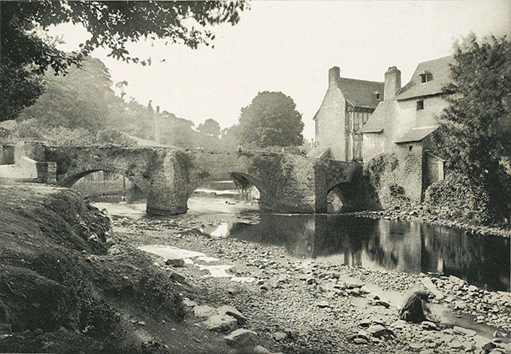 E.H. de Saint-Senoch - Vieux Pont de Quimperlé 1895