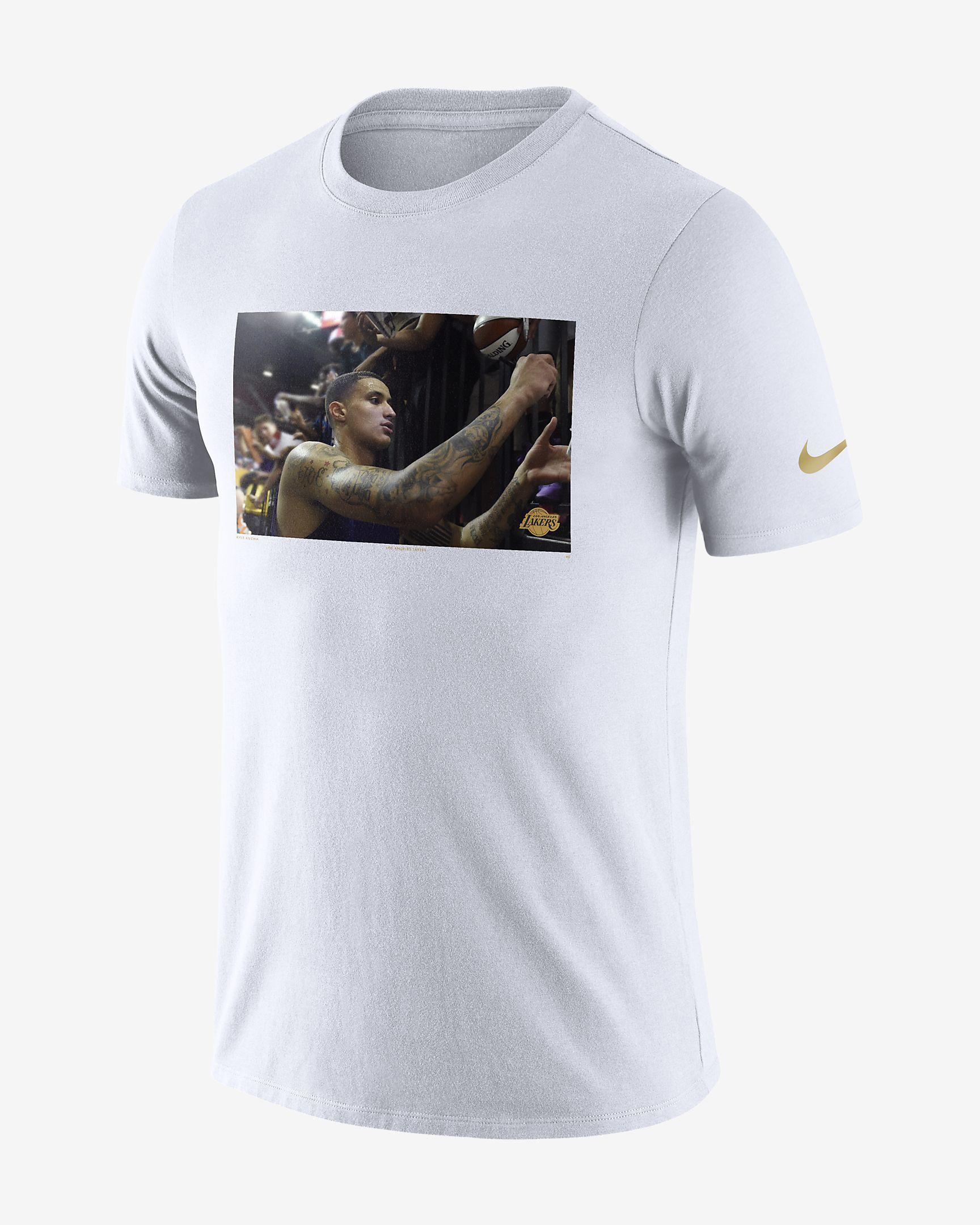 725829098 Kyle Kuzma Los Angeles Lakers Dri-FIT Men s NBA T-Shirt