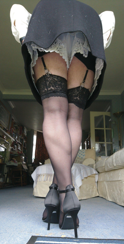 lacy slips upskirt