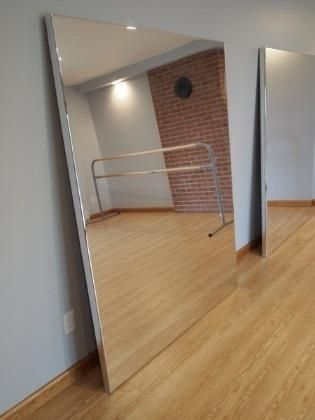 Directions To Make A Mirror Home Dance Studio Dance Floor Diy Home Gym Mirrors