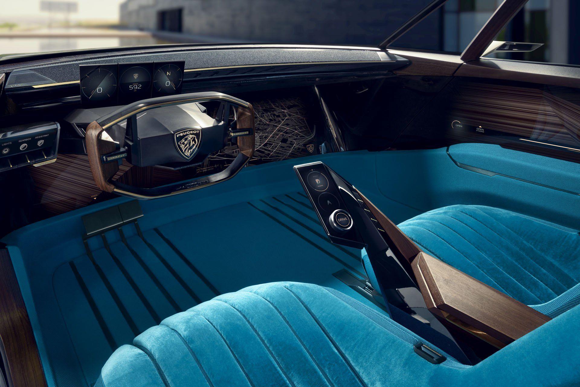 Peugeot eLegend Concept Takes Retro Design Into The
