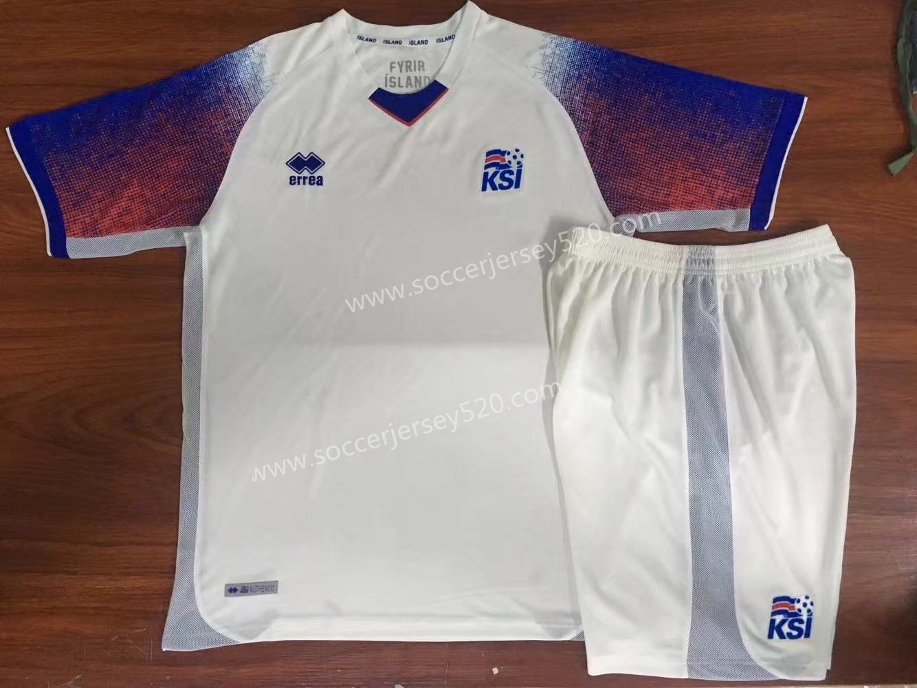 383a0f600 2018 World Cup Iceland Away White Kid/Youth Soccer Uniform | Cheap ...