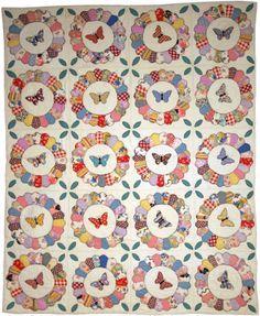 dresden butterfly quilt pattern - Google Search