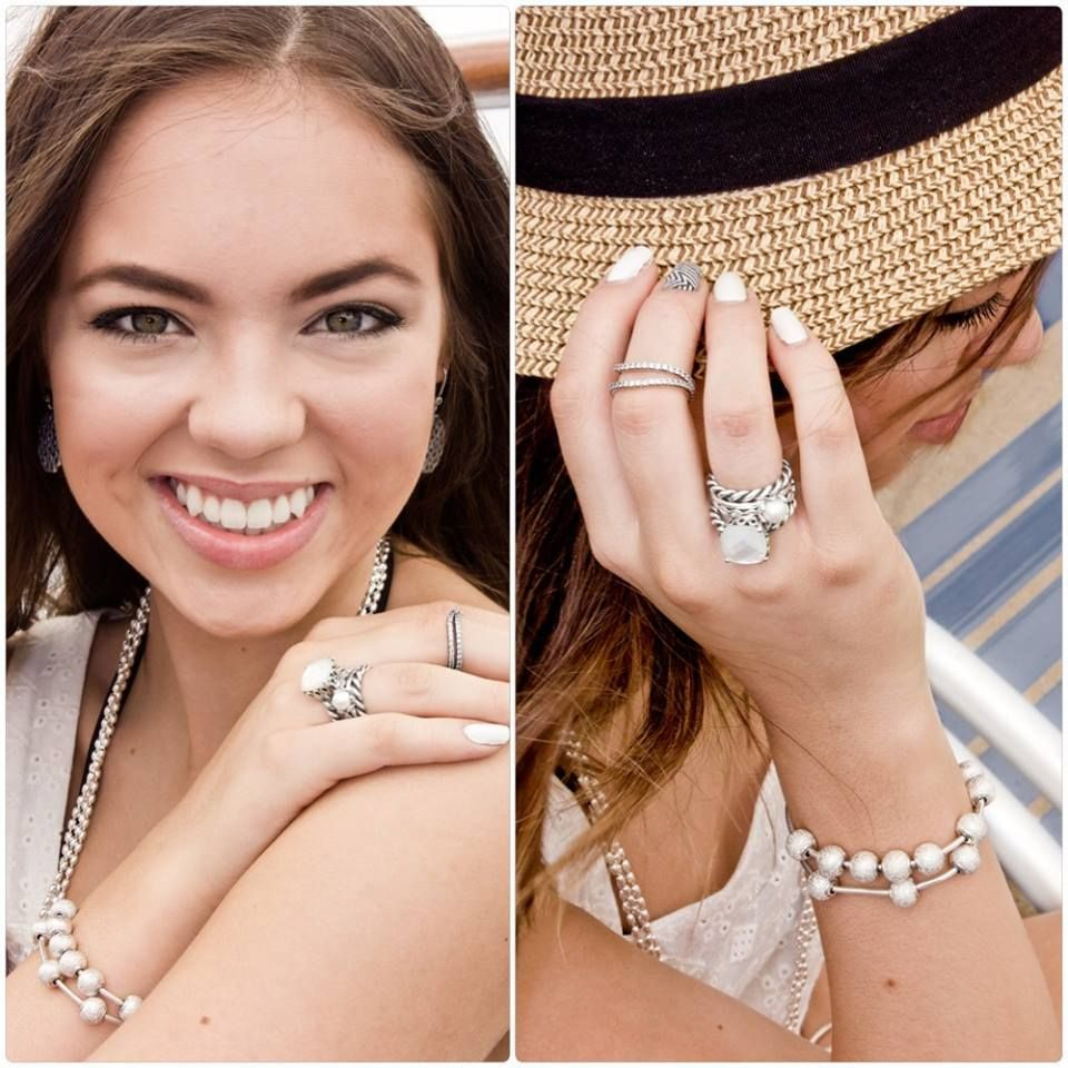 """48f5e8fb6 Add some """"timeless elegance"""" to your PANDORA collection with the """"elegant  sincerity"""" ring. An iridescent beauty that is sure to become a favorite  statement ..."""