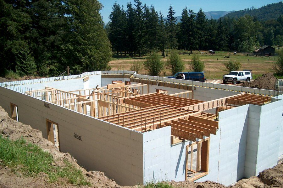 Insulated Concrete Forms (ICF) Construction Detail Photos ...