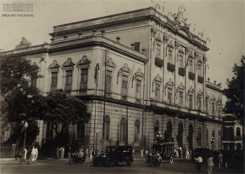 Paço Municipal do Rio de Janeiro, antiga sede da ...