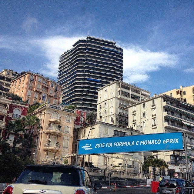 #PortHercule Driving the course in #MonteCarlo #Monaco #Mattisthrilled by monavincent from #Montecarlo #Monaco