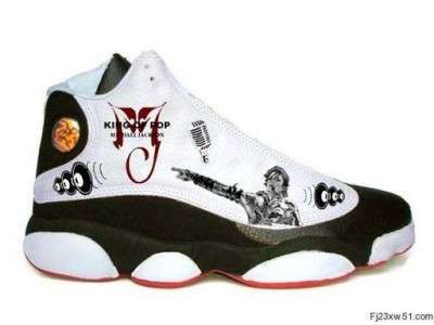 382ae739a08 Illustrated Sneakers in Memory of Michael Jackson #hightops #shoes  trendhunter.com