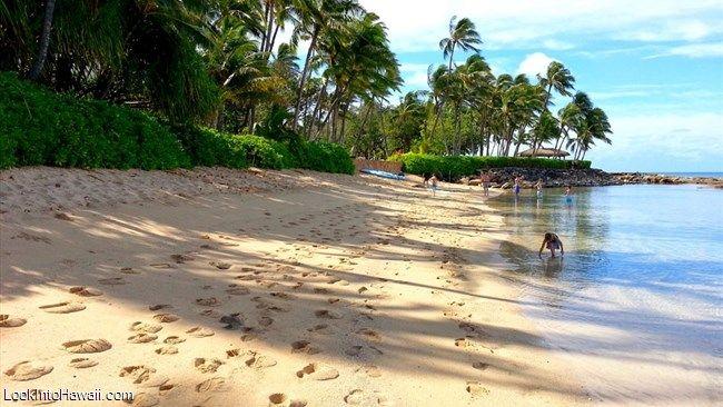 Secret Beach At Lanikuhonua In Oahu Kapolei Hawaii Well Hidden Ko Olina