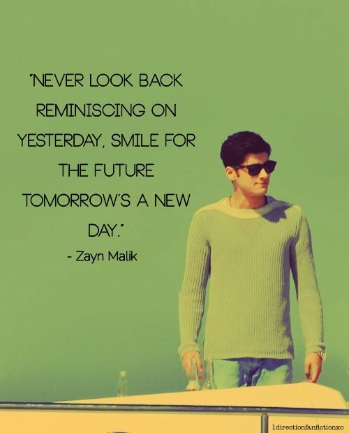 Personally I think zayn had the best quotes | One ...