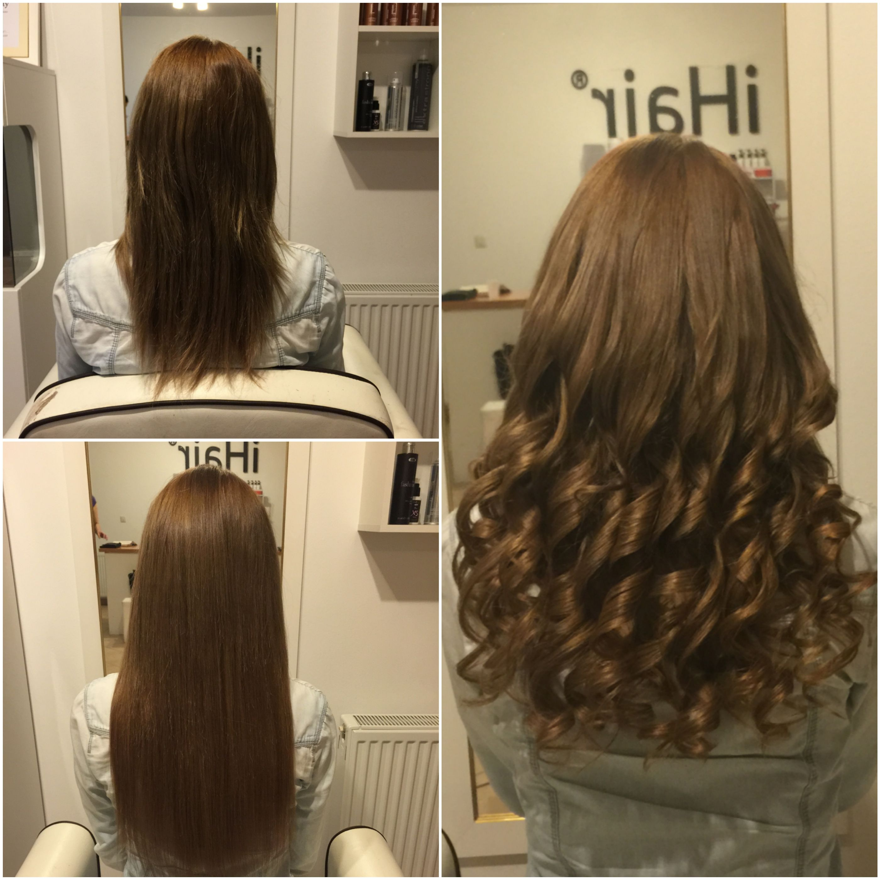 50 Cm 20 Inches Hairextensions From The Ihair Dunakeszi Hair Salon