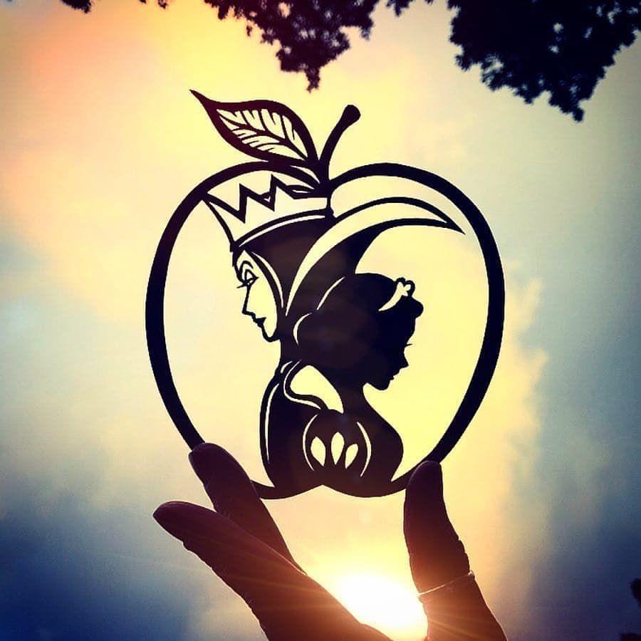 Snowwhite Snow White Tattoos Disney Silhouettes Disney Evil Queen