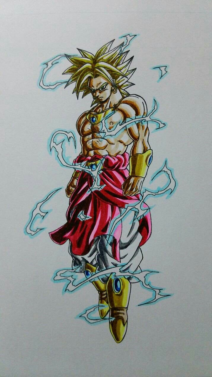 Super Saiyan 2 Broly Dragon Ball Z Dragon Ball Dragon