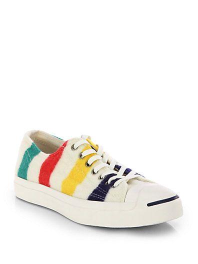 Converse - Striped Wool Sneakers | Wool