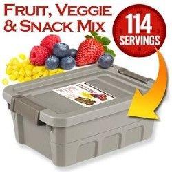 Fruit, Veggie And Snack Mix