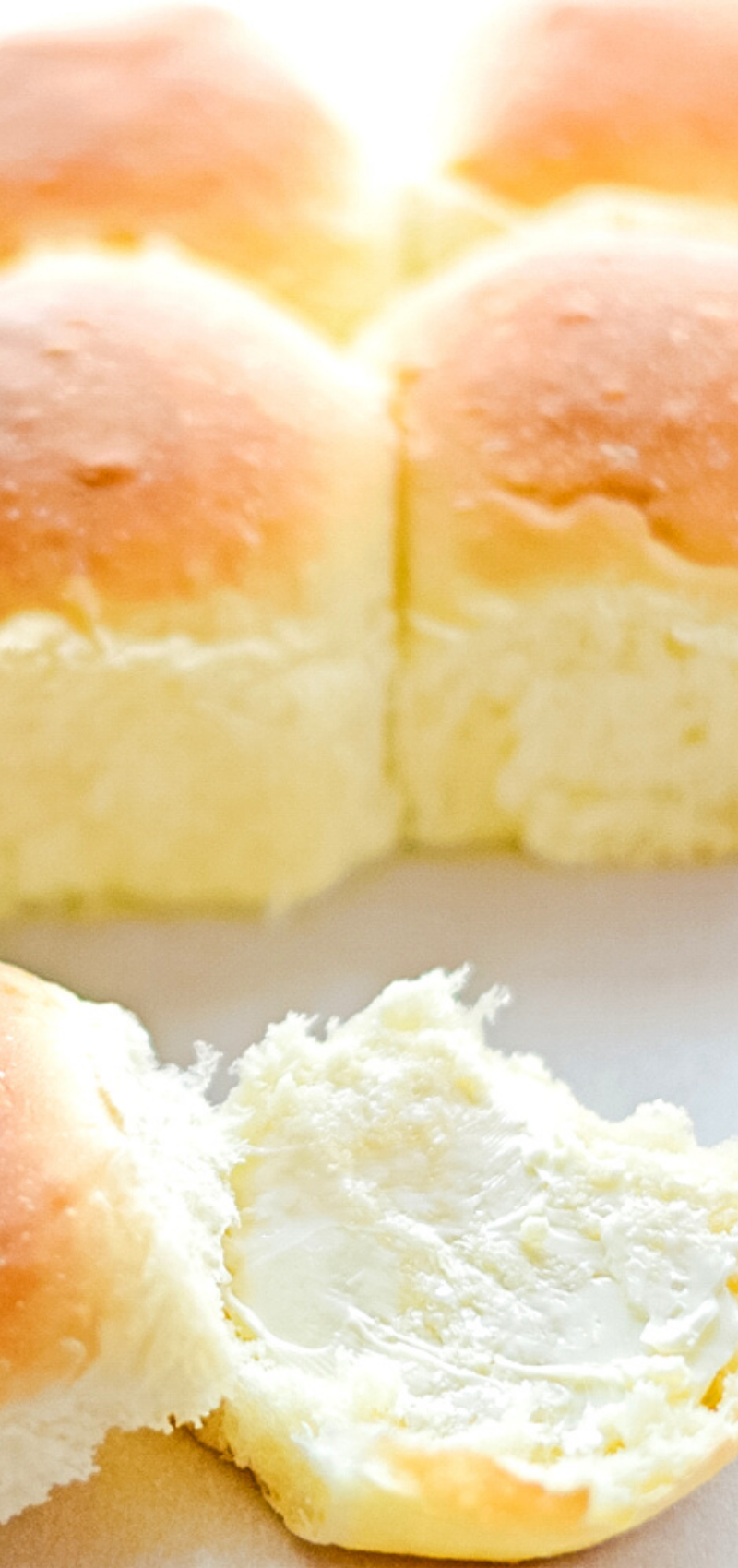 Homemade Dinner Rolls - Can't find fresh bread? This ...