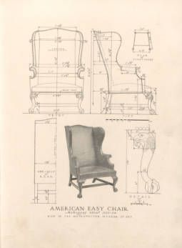 Furniture Drawings an exemplar of antique furniture design : a collection of measured