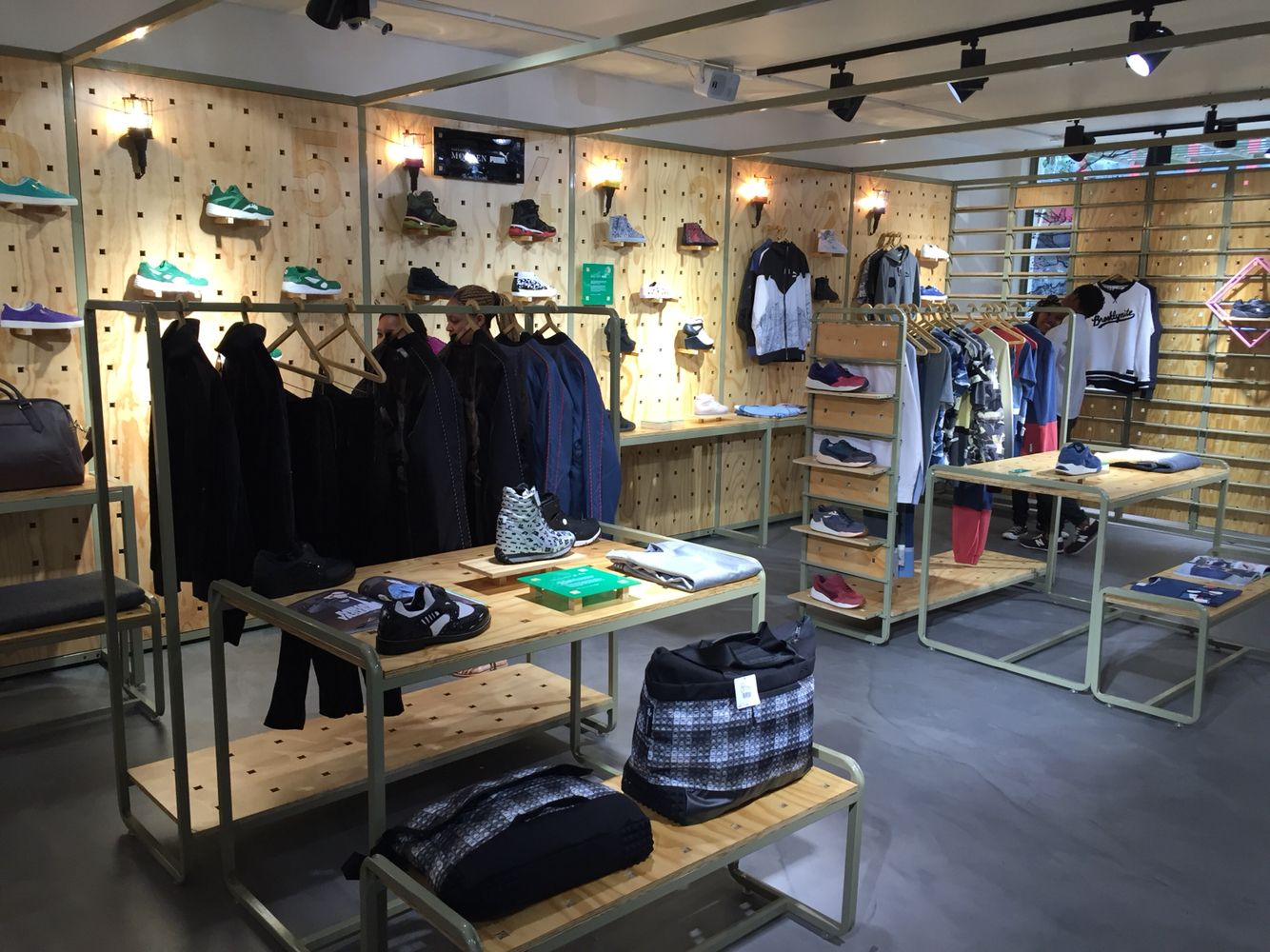 147 best stores images on pinterest retail displays retail pumaselectjozi amazing new puma lifestyle store in braamfontein