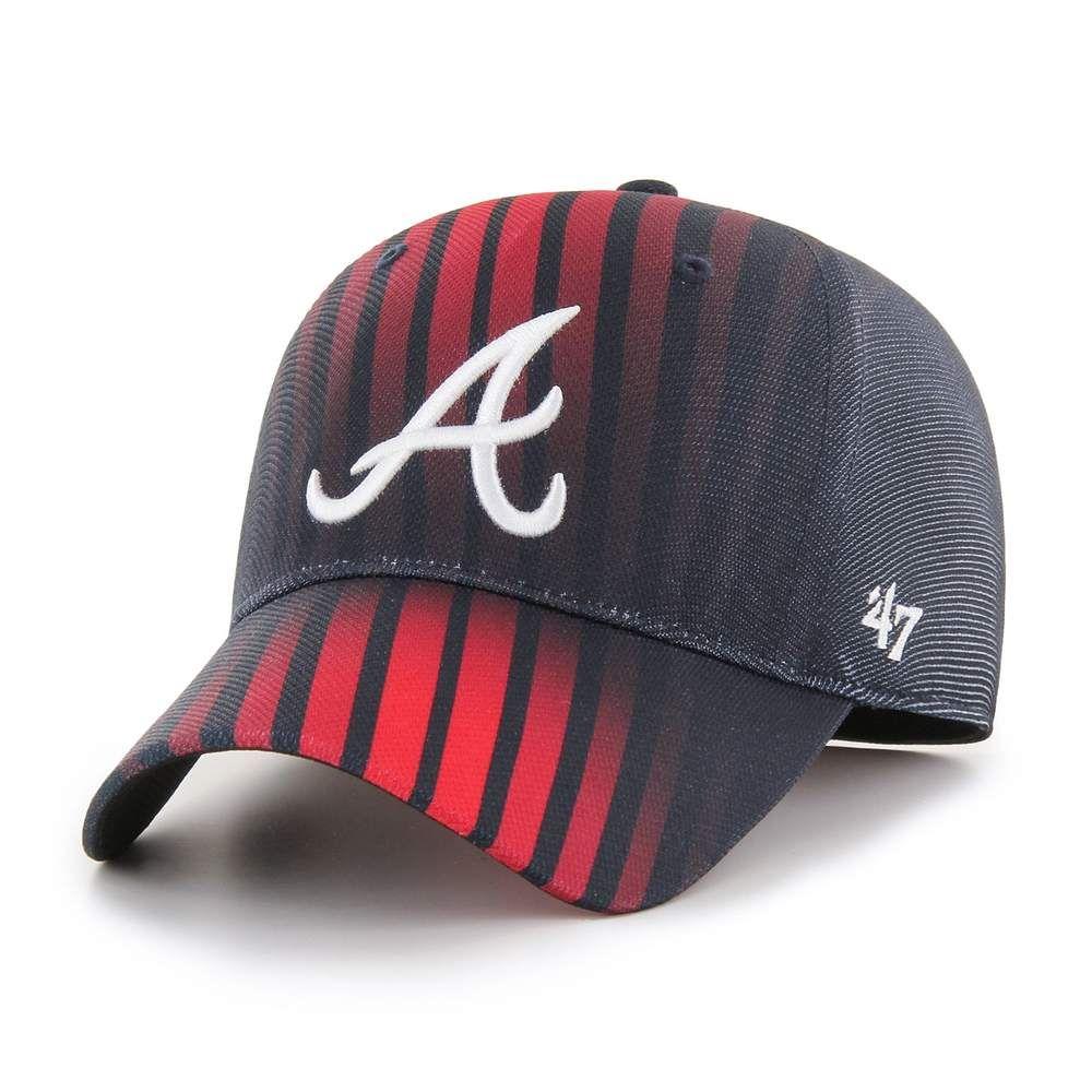 Red White Blue Atlanta Tomahawk Chop Hat Baseball Trucker Etsy Braves Hat Baseball Hat Style Atlanta Braves Hat