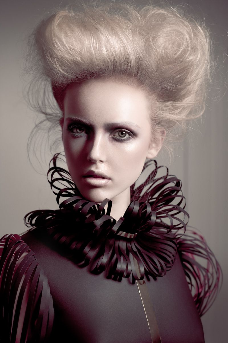Inspiration High fashion hair, High fashion makeup