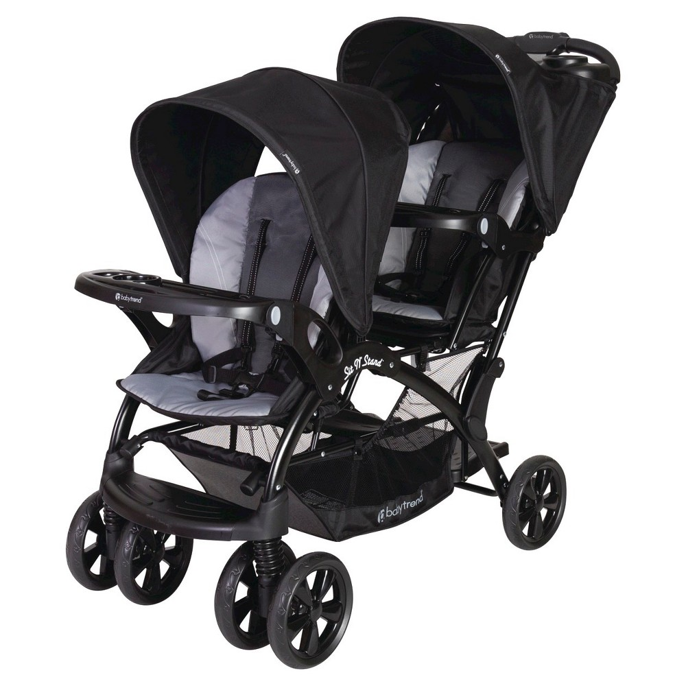 Baby Trend Sit N' Stand Double Stroller Moonstruck