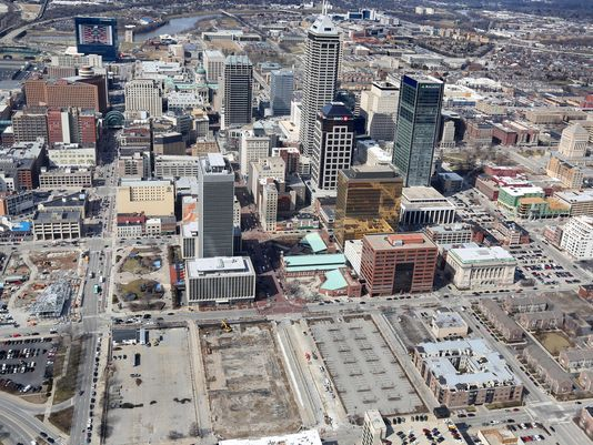 5 Downtown Indianapolis Projects That Will Be Finished In 2016 Indianapolis Indianapolis Indiana Downtown