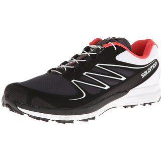 NEW Salomon Sense Mantra2 Running Hiking Shoes Black White Papaya Women 10.5 NEW