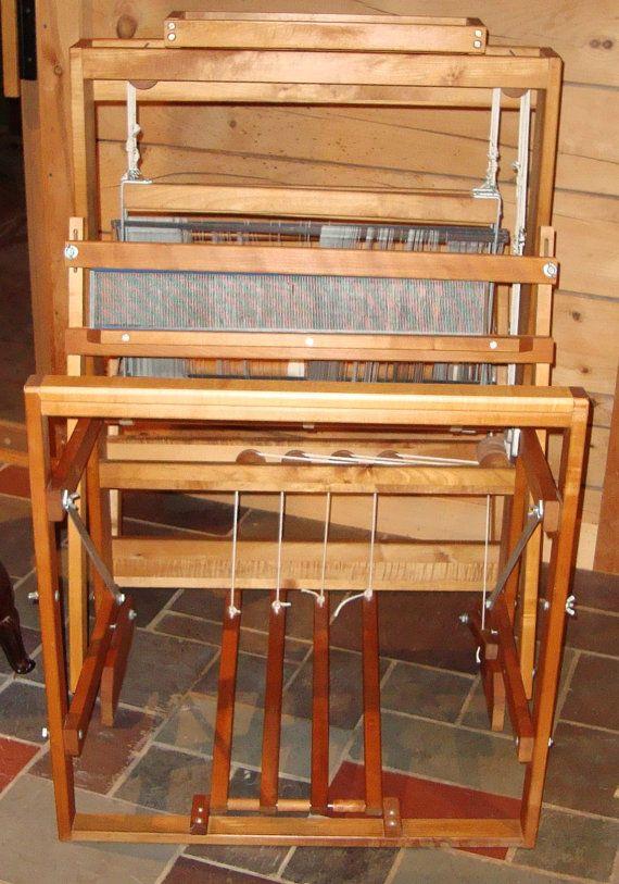4 Harness floor 22 inch loom by Harrisville by maverickson on Etsy