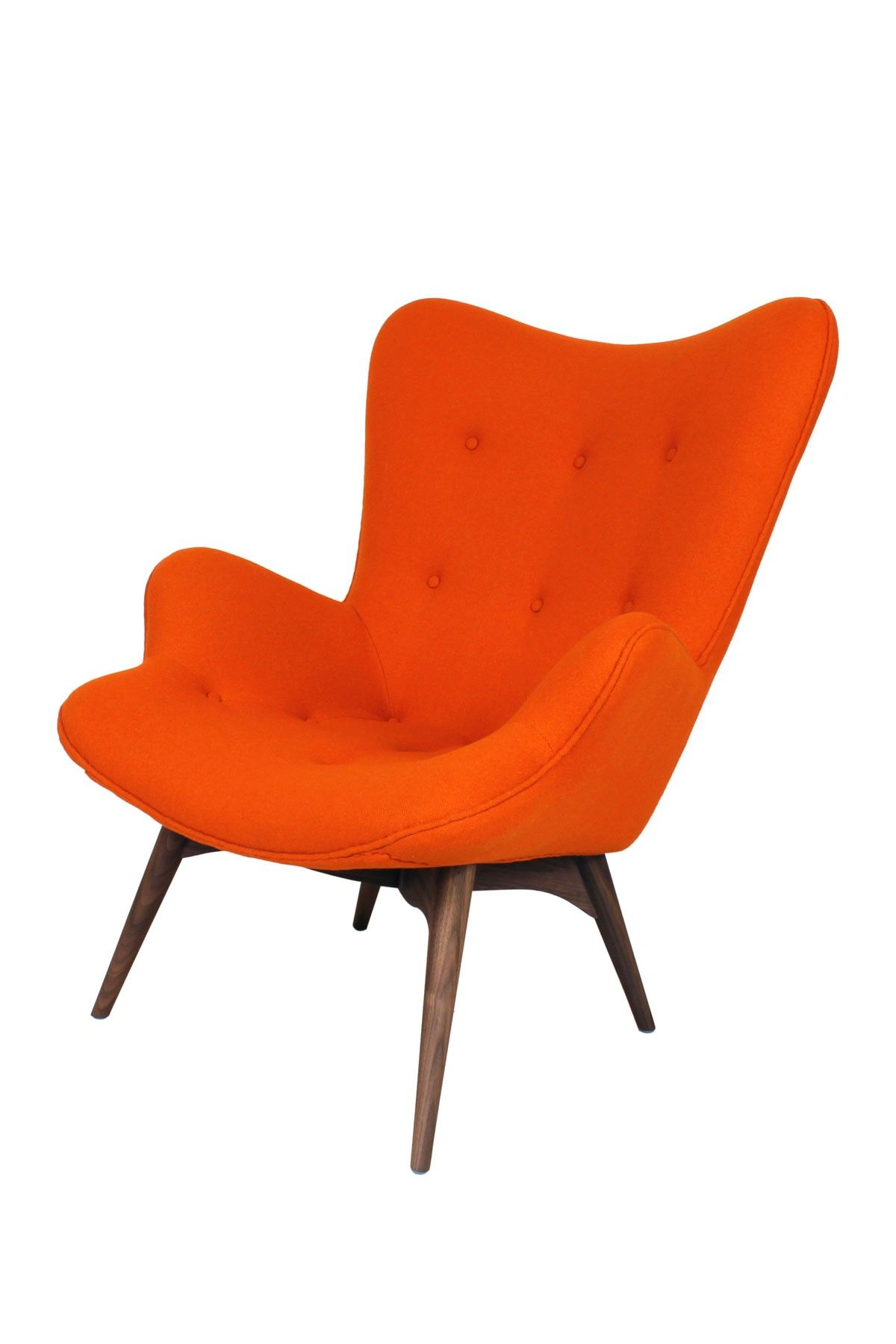 Control Brand The Teddy Bear Orange Chair Furniture Upholstered Chairs My Furniture
