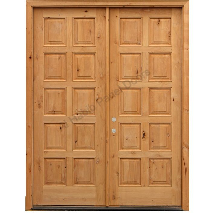Diyar Solid Wood Main Double Door Hpd412 Main Doors Al