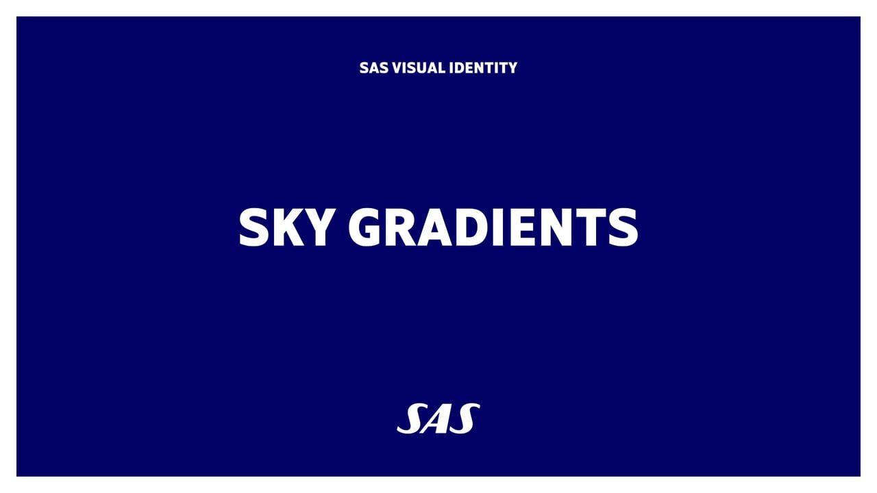 SAS scandinavian airlines visual identity