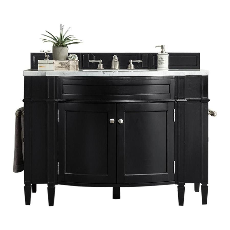 James Martin Vanities Brittany 46 In Black Onyx Single Sink