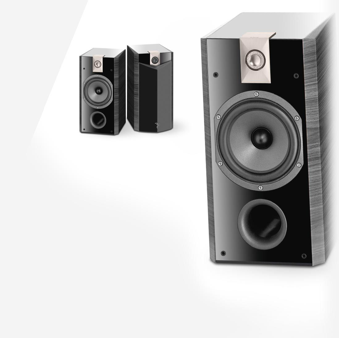 Bookshelf speaker Focal Chorus 807 V for Home Audio