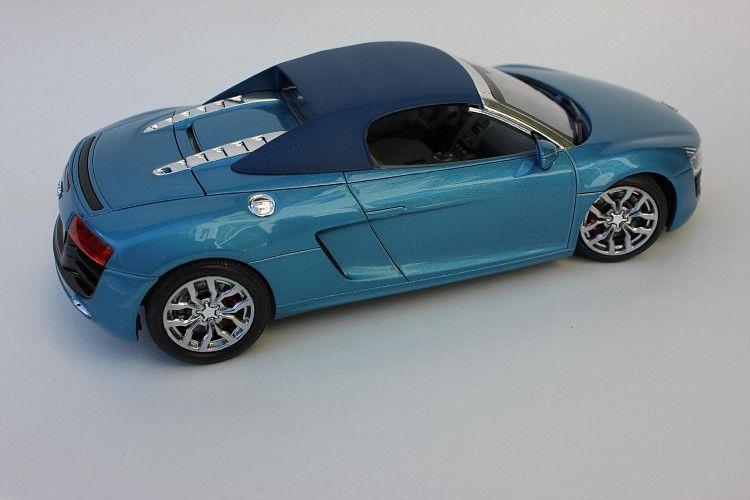 Audi R8 Spyder Revell 1 24 Plastic Model Cars Audi R8 Spyder Model Cars Kits