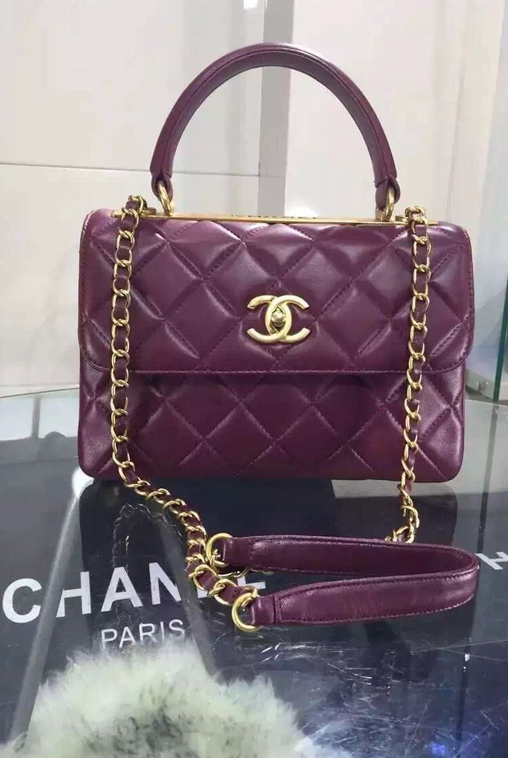 40a03b5c82 Chanel reintroduced the Trendy CC Tote for the Cruise 2015 Collection. It  just likes a