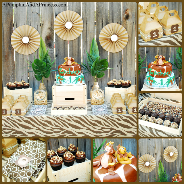 Safari birthday party theme african theme party for African party decoration