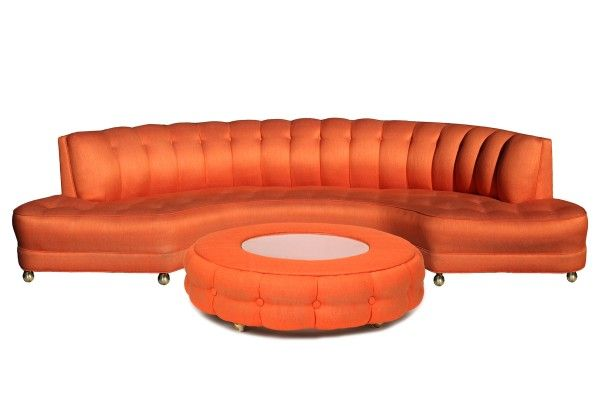 A Sofa With A Lively Color And Shape   Fun And Unique Sofa Designs