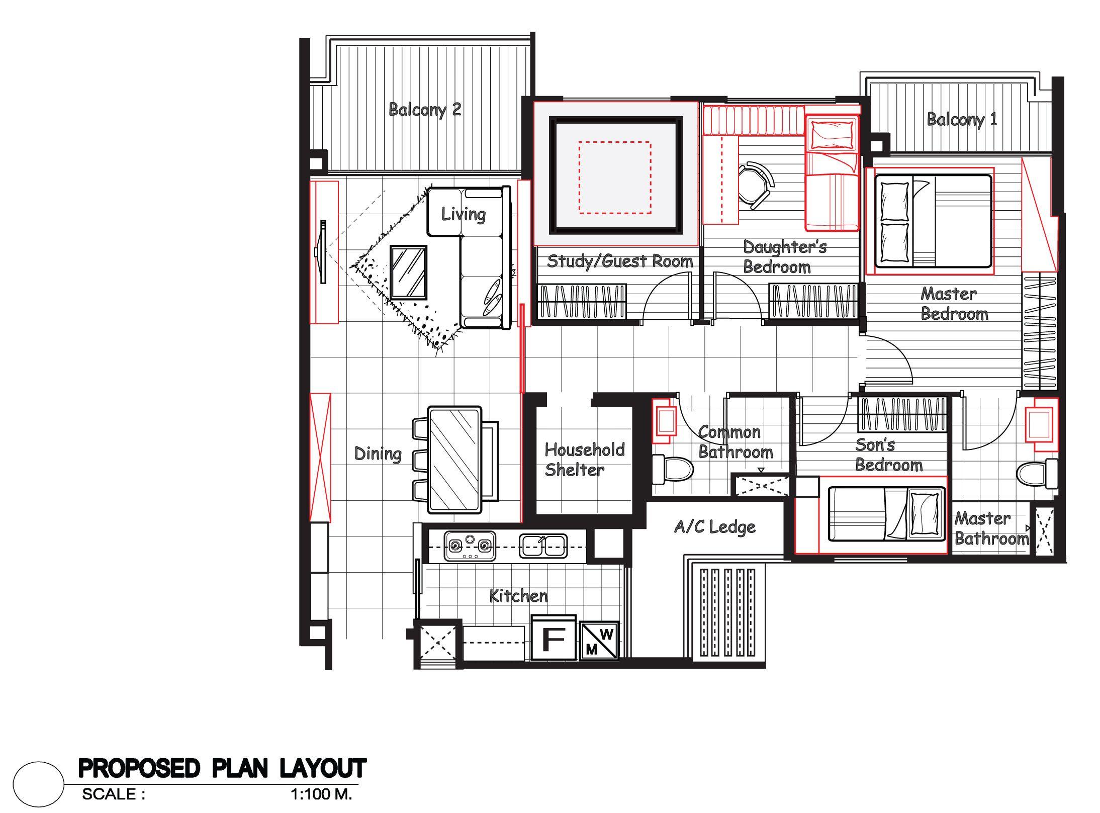 Room Design Floor Plan Room Design Floor Plan Hdb Interior Design