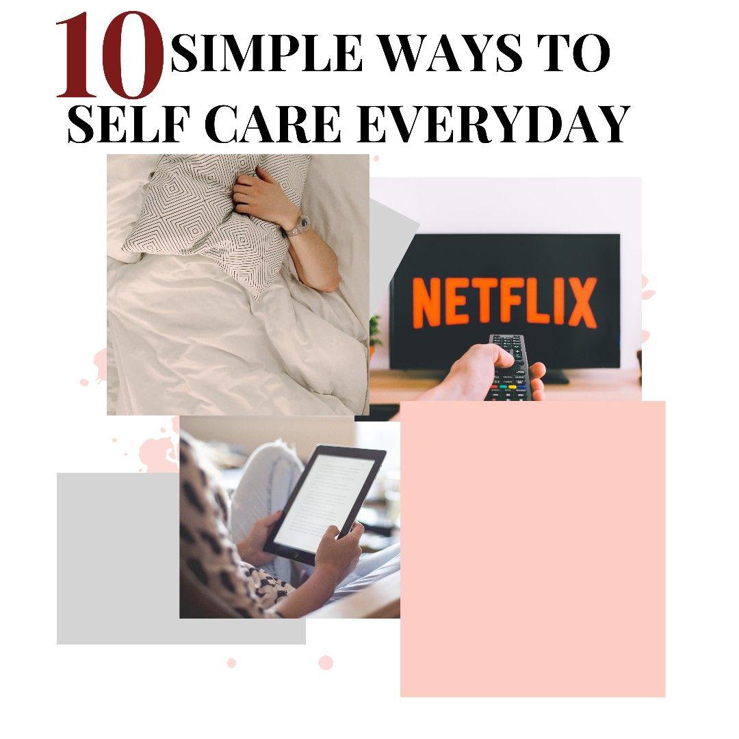 Self care in 2020 self care care self