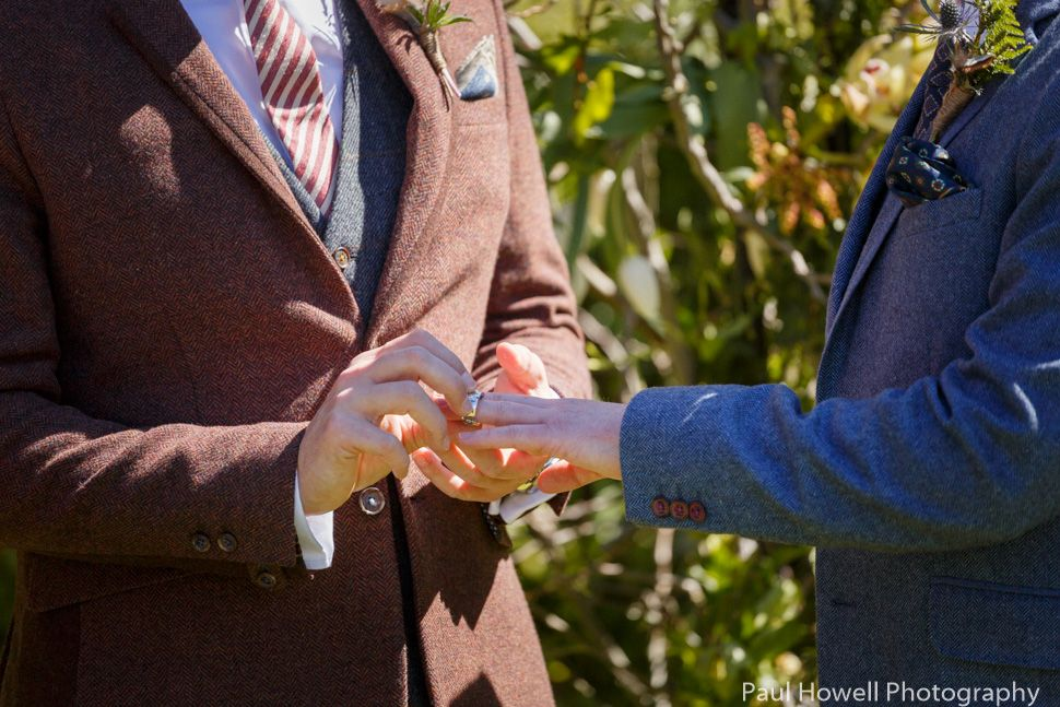 Same sex wedding photos at wharekauhau lodge (15)
