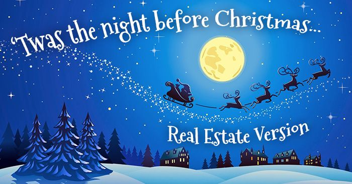 The Greatest Christmas Story Ever Told Real Estate Version Real Estate Humor Pop Bys Real Estate Real Estate Ads