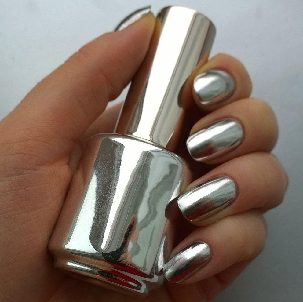 относящиеся дизайн ногтей втирка зеркальной пыли фото золотой биркин, собственным словам