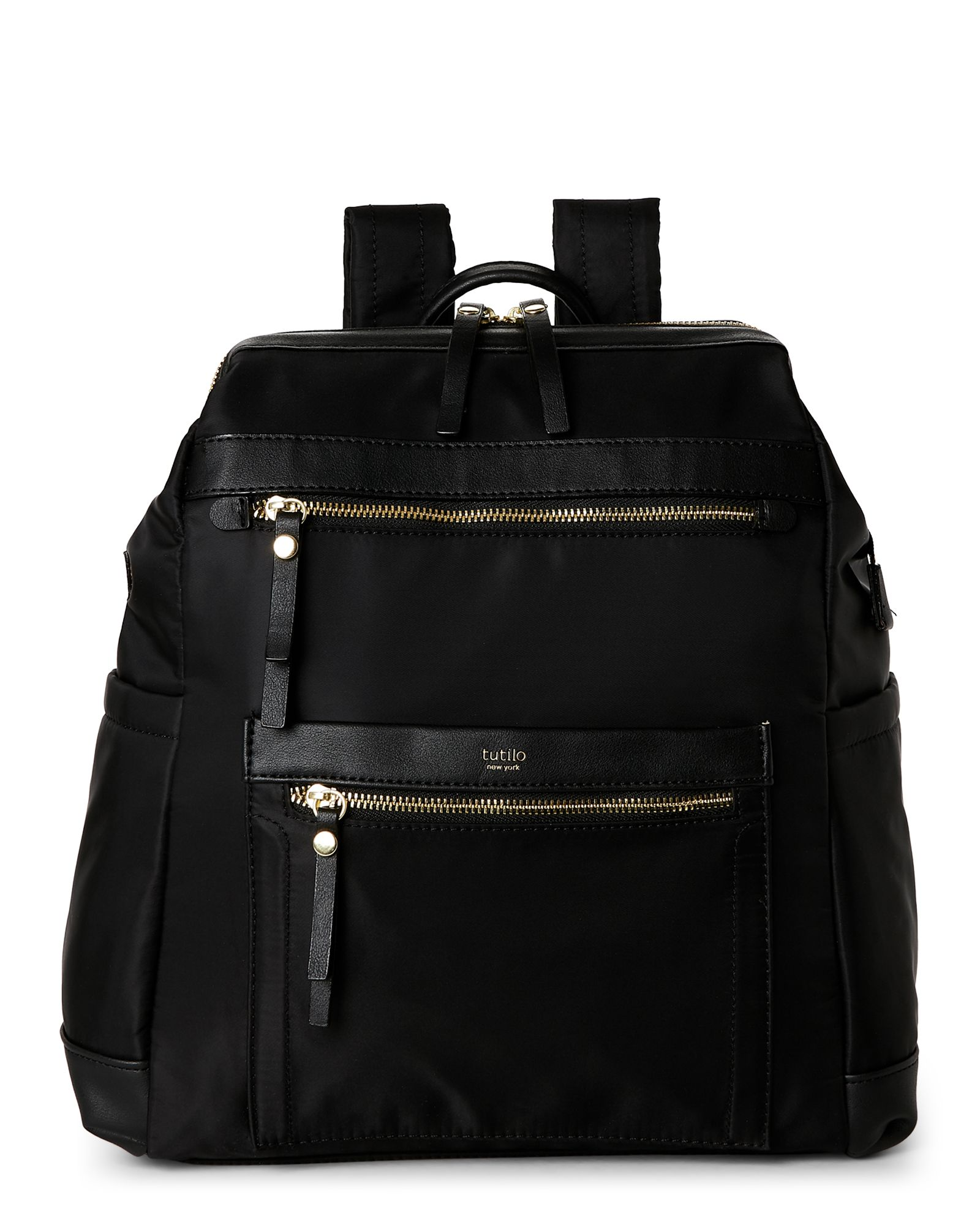 a0c132638a Tutilo Black Captive Nylon Backpack. Tutilo Black Captive Nylon Backpack  Cool Items